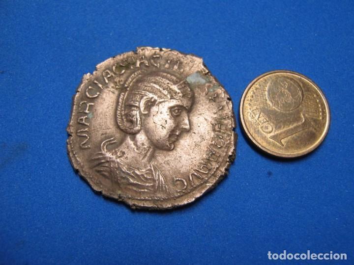 OTACILIA SEVERA SESTERTIUS 244-249 AD CONCORDIA AVGG BRONZE 12 5 GR (Numismática - Reproducciones)