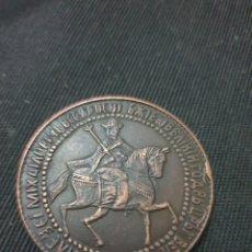 Reproducciones billetes y monedas: MONEDA 1654 RUSIA COBRE. Lote 268410419