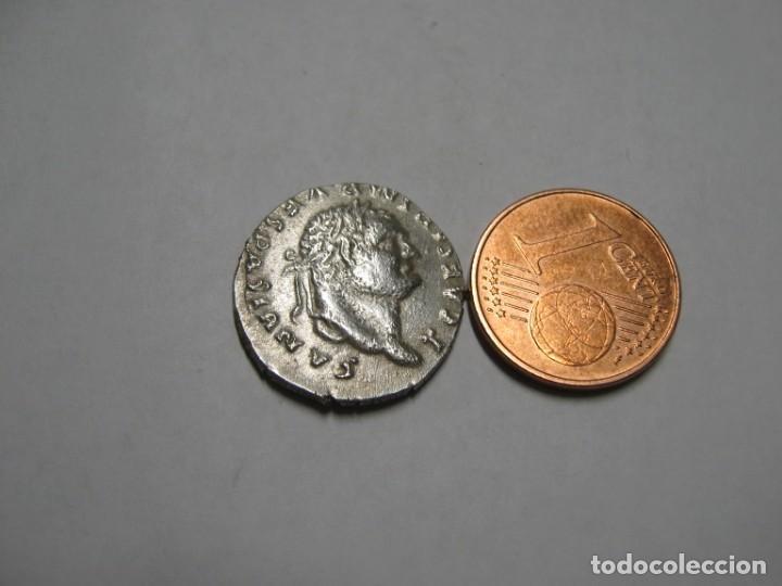 FLAVIA DOMITILIA UND VESPASIANO DINERO PLATA 2.95 GR (Numismática - Reproducciones)