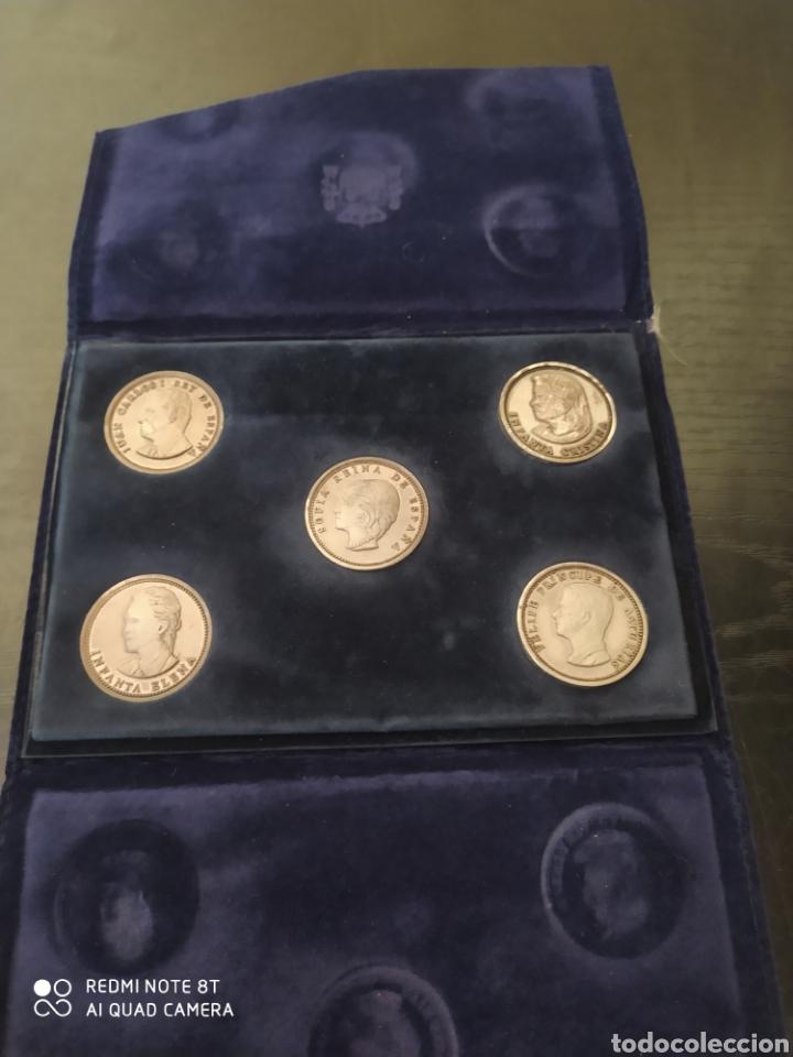SET DE MONEDAS Y SET DE PLACAS PALACIOS CASA REAL (Numismática - Reproducciones)