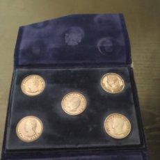 Reproductions billets et monnaies: SET DE MONEDAS Y SET DE PLACAS PALACIOS CASA REAL. Lote 269579338