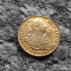 Reproducciones billetes y monedas: 2 ESCUDOS DE ORO 1798. Lote 269653408