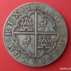 Reproducciones billetes y monedas: MONEDA DE 8 REALES DE FELIPE V 1731. REPRODUCCIÓN. Lote 269723798
