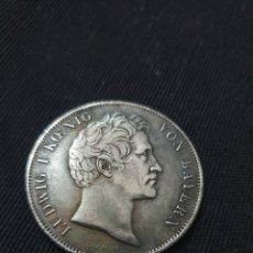Reproducciones billetes y monedas: MONEDA LUDWIG L KOENIG 1837 ESTADOS ALEMANES. Lote 269757788