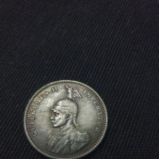 Reproducciones billetes y monedas: MONEDA RUPIA WILHEM LL ÁFRICA ORIENTAL 1891. Lote 269758093