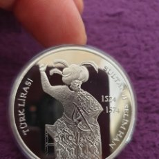 Reproduções notas e moedas: MONEDA LMPERIO LSLAMICO SULTAN SELIM LL TURKIA. Lote 274285988