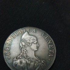 Reproducciones billetes y monedas: MONEDA REPÚBLICA VENETA ITALIA 1756. Lote 275617773