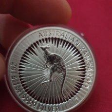 Reproducciones billetes y monedas: MONEDA ONZA 1 DOLAR AUSTRALIAN KANGAROO 2016. Lote 275679063