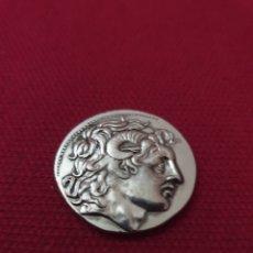 Reproducciones billetes y monedas: MONEDA GRIEGA TETRADRACHM. Lote 275712713