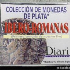 Reproduções notas e moedas: CAJA COLECCION REPRODUCCION MONEDAS PLATA, IBERO ROMAS, DIARI TARRAGONA. Lote 275787418