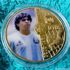 Reproducciones billetes y monedas: MARADONA V3. Lote 275870063