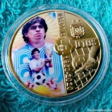 Reproducciones billetes y monedas: MARADONA. Lote 275870338