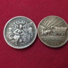 Reproducciones billetes y monedas: MONEDAS HALF DOLLAR. Lote 276052468