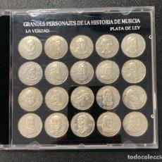Reproductions billets et monnaies: MONEDAS DE PLATA DE LEY. Lote 276241428