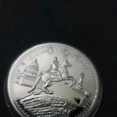 Reproducciones billetes y monedas: MONEDA ONZA CONMEMORATIVA RUSIA SAN PETERSBURGO. Lote 278945663