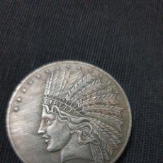 Reproducciones billetes y monedas: MONEDA 10 DÓLAR 1907. Lote 278945953
