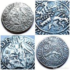 Reproducciones billetes y monedas: ⚜️ BAÑO DE PLATA. GULDENGROSCHEN DE STEFAN DE BOHEMIA [1510/1528]. 22,7G / 41MM. IMITATIVA. 01B2. Lote 284144453