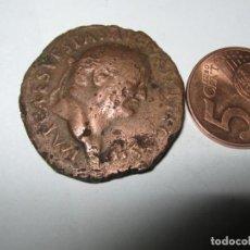 Reproducciones billetes y monedas: VESPASIAN, 69-79, AE SESTERZ COS III = 71 BRONZE 23,40 GR. TITUS + DOMITIAN. Lote 286700323