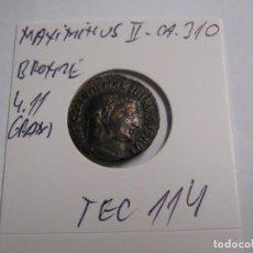 Reproducciones billetes y monedas: MAXIMINUS II, AE FOLLIS, ANTIOCH, VIRTUS, RIC 155B--309--311. Lote 286717293