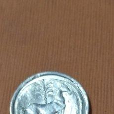 Reproducciones billetes y monedas: MONEDA IBÉRICA REPRODUCCIÓN REALIZADA EN PLATA. Lote 287937123