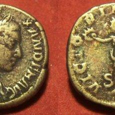 Reproduções notas e moedas: REPRODUCCION DE UN SESTERCIO DE ALEJANDRO SEVERO CECA ROMA. Lote 288590663