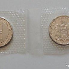 Reproducciones billetes y monedas: 2 MONEDAS / CONGRESS 1984 HAMBURG - SEEK THE WELFARE OF THE CITY / FREIE UND HANSESTADT HAMBURG. Lote 288150343