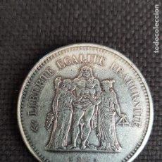 Reproducciones billetes y monedas: 50 FRANCOS 1876-1976. Lote 288925223