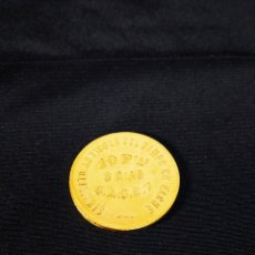 Reproducciones billetes y monedas: MONEDA 10 PESETAS ,SINDICATO AGRÍCOLA DEL CAMPO DE ELCHE ,REPRODUCCIÓN. Lote 289871453