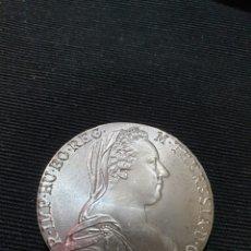 Reproduções notas e moedas: MONEDA 1 THALER MARIA THERESA AUSTRIA 1780. Lote 293249408