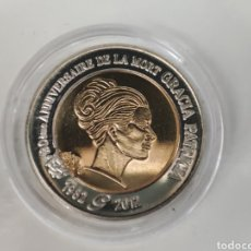 Reproducciones billetes y monedas: MONEDA 2 EUROS DE PRUEBA DE MÓNACO GRACE KELLY. Lote 293745573