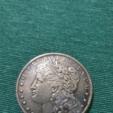 Riproduzioni banconote e monete: MONEDA ONE DOLLAR MORGAN 1897. Lote 293795628