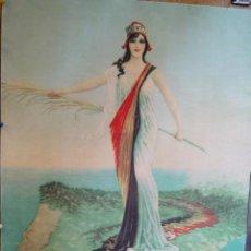 Coleccionismo de carteles: REPRODUCCION DE CARTEL REPUBLICANO. IDEAL PARA DECORAR. MEDIDAS: 63X 47 CM.. Lote 19113501