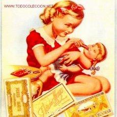 Coleccionismo de carteles: CARTEL REPRODUCCIÓN: CHOCOLATES MAYO. Lote 22098317