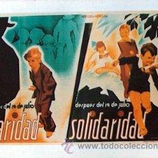 Coleccionismo de carteles: REPRODUCCION CARTEL GUERRA CIVIL 70, CARIDAD SOLIDARIDAD, BALLESTER, UGT CNT. Lote 17548324