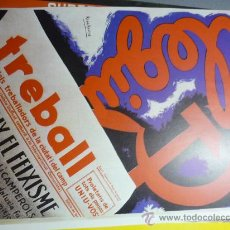 Coleccionismo de carteles: CARTEL TREBALL REPRODUCCION. Lote 32718395