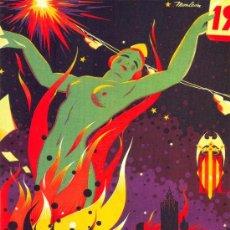 Coleccionismo de carteles: ANTIGUO CUADRO CARTEL (EN MADERA): FALLAS DE VALENCIA DEL AÑO 1935. REPRODUCCION 80X60 CM. Lote 189935750