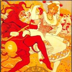 Coleccionismo de carteles: ANTIGUO CUADRO CARTEL (EN MADERA): CARNAVALES DE MADRID AÑO 1921. REPRODUCCIÓN 50X70 CM. Lote 196543225