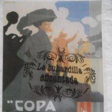 Coleccionismo de carteles: PUBLICIDAD - REPRODUCCIÓN DE CARTEL COPA CATALUNYA 1909 -TAMAÑO APROX.27 CM X 40 CM - PLASTIFICADO. Lote 40779654