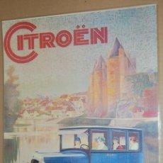 Coleccionismo de carteles: CARTEL - CITROEN - ES REPRODUCCION TAMAÑO 36 X 29 CM PLASTIFICADA LISTA PARA COLGAR. Lote 42510067
