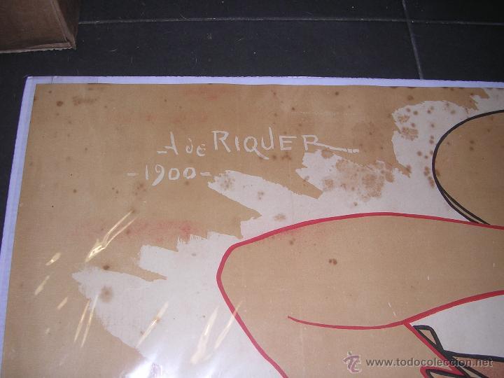 Coleccionismo de carteles: (M) ANTIGUO CARTEL - JOVENTUT ,PERIODICH CATALANISTA ,A. DE RIQUER 1900 LIT.UTRILLO & RIALP S.C. - Foto 2 - 43910268