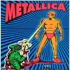 Colecionismo de cartazes: METALLICA & ALICE IN CHAINS / 26 JULIO 1994 VELODROME FIELD - RARO CARTEL CONCIERTO 30X40. Lote 228924345