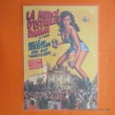 Coleccionismo de carteles: CARTEL - REPRODUCCION PUBLICIDAD LA MERCE DE ESTRELLA DAMM - 25 X 35 CM.. Lote 48513291