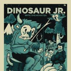 Collectionnisme d'affiches: DINOSAURS JR. - DENVER CONCERT 15 OCT 2012 / RARO CARTEL CONCIERTO 30X40. Lote 49432915