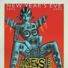 Colecionismo de cartazes: JAMES ADICTION - WILTERN THEATRE IN LOS ANGELES, CALIFORNIA 2003 !! CARTEL CONCIERTO 30X40 !!. Lote 50431183