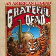 Collectionnisme d'affiches: GRATEFUL DEAD - EUROPE CONCERT POSTER 1990 - CARTEL CONCIERTO 30X40 !!. Lote 50751548