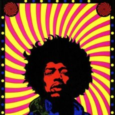 Collectionnisme d'affiches: JIMI HENDRIX - GREAT PSYCHEDELIC !! CARTEL CONCIERTO 30X40. Lote 58921910