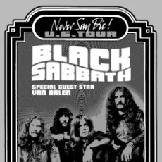 Colecionismo de cartazes: BLACK SABBATH - MUNICIPAL AUDITORIUM NASHVILLE TENNESEE 19 NOV. 1978 !! CARTEL CONCIERTO 30X40 !!. Lote 52456149