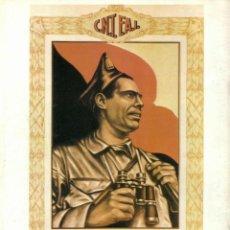 Coleccionismo de carteles: CARTEL GUERRA CIVIL * C.N.T. F.A.I./ ... * (REPRODUCCIÓN/COLECCIÓN ED. URBIÓN). PERFECTO ESTADO.. Lote 52887683