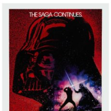 Collectionnisme d'affiches: STAR WARS: REVENGE OF THE JEDI * USA MOVIE POSTER !! CARTEL CLASSIC CINE 30X40 !!. Lote 53520903
