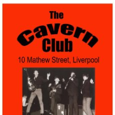 Collezionismo di affissi: THE BEATLES - FOR THE CAVERN CLUB LIVERPOOL POSTER 1963 !! CARTEL CONCIERTO 30X40 !!. Lote 146367845